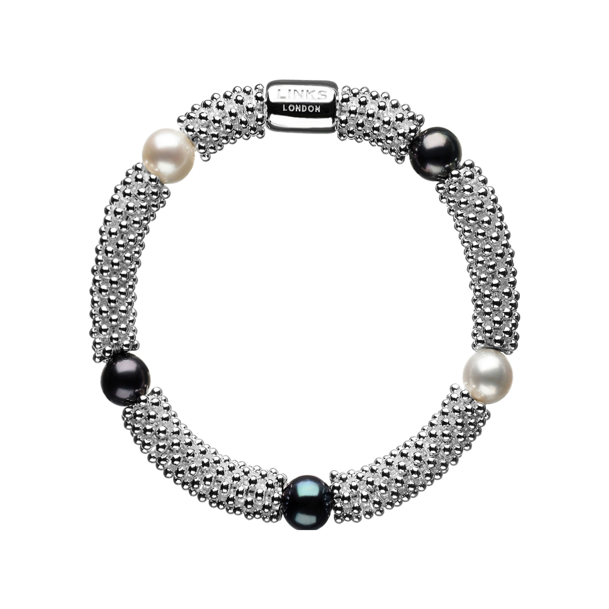 pyrrha look black charm talisman within pearl freshwater products bracelet