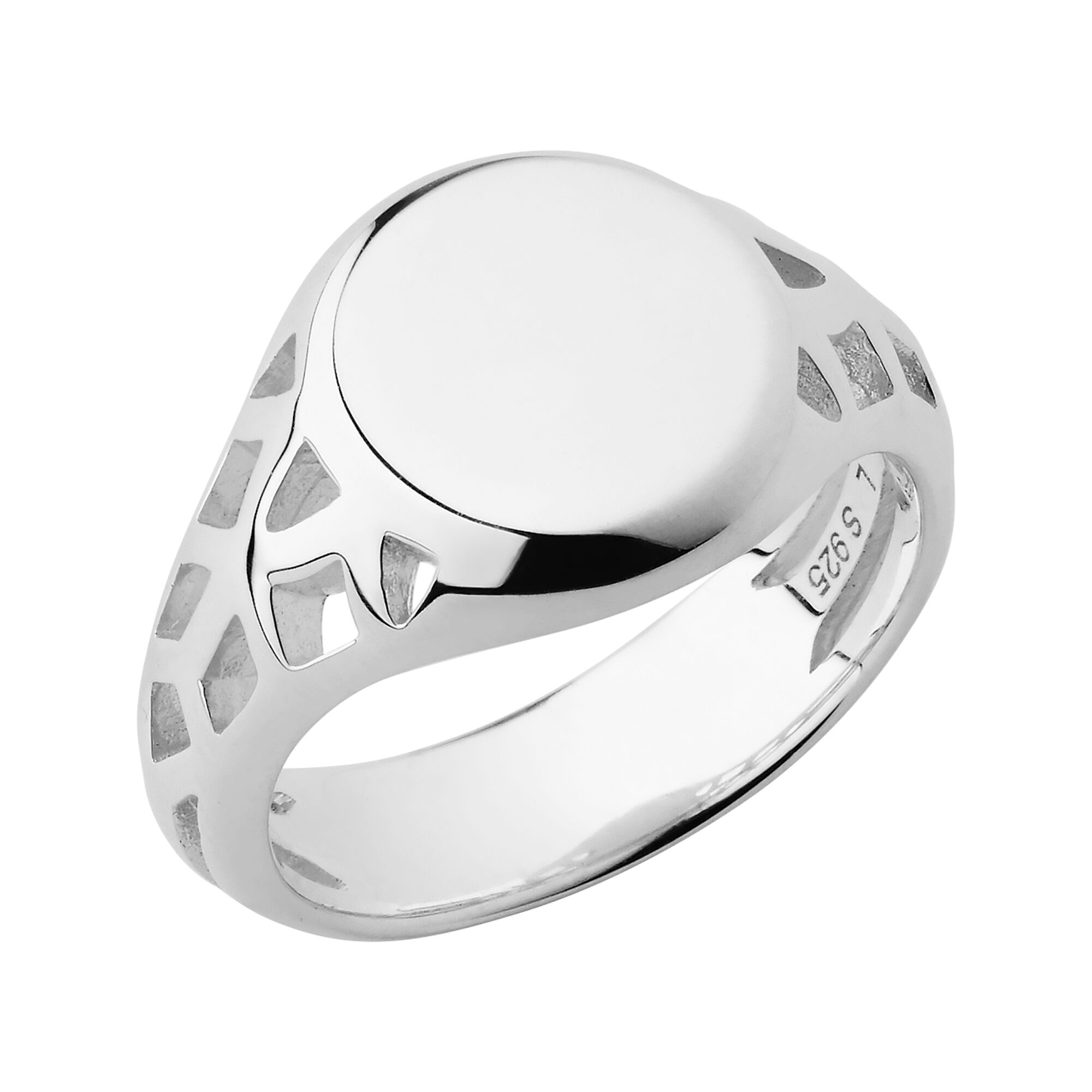 ring progressive then studio silver now products signet