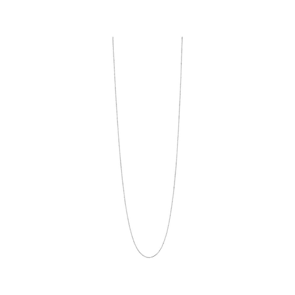 Essentials Sterling Silver 1.5mm Ball Chain 85cm, , hires