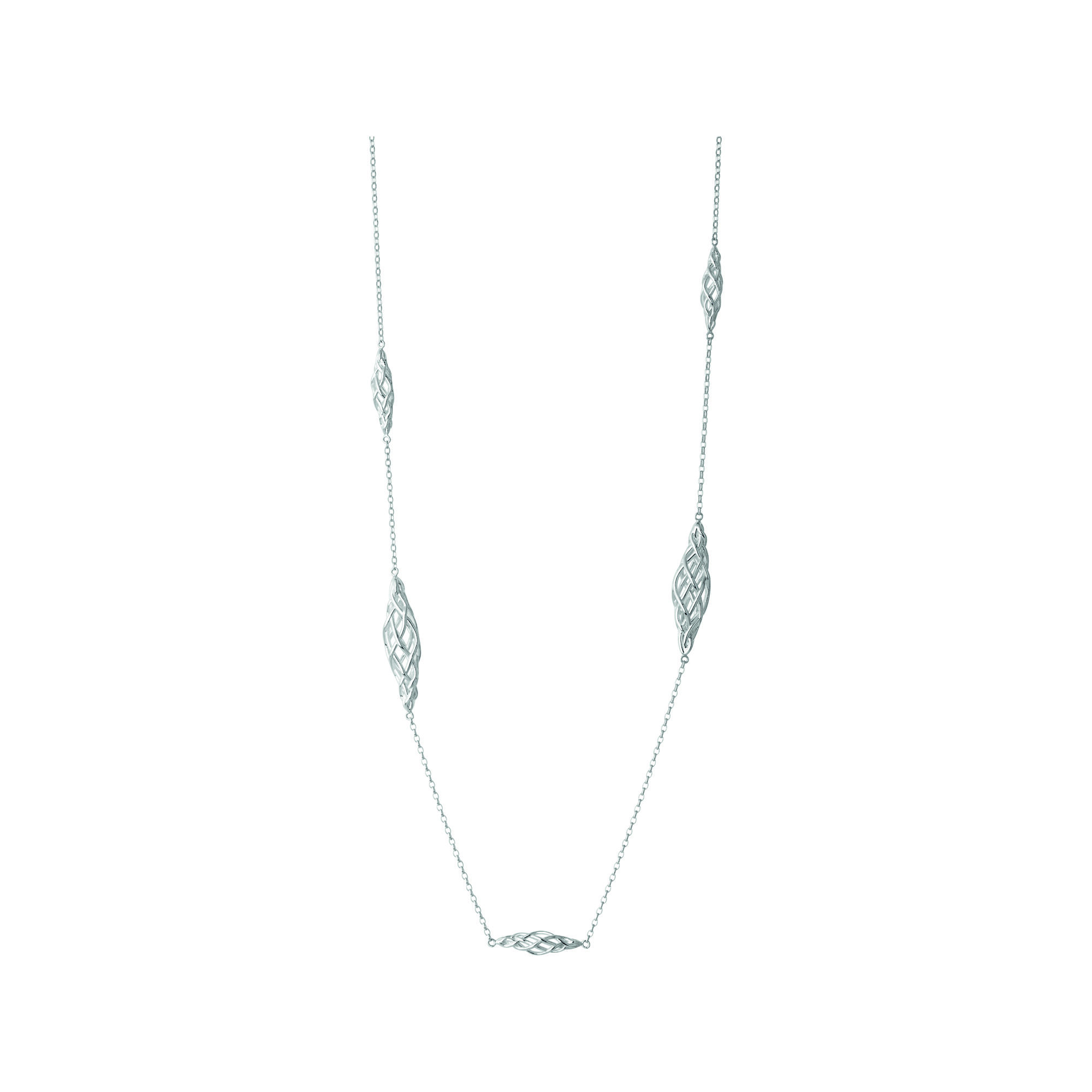 long p necklaces and strand station neve dot beaded silver necklace stella