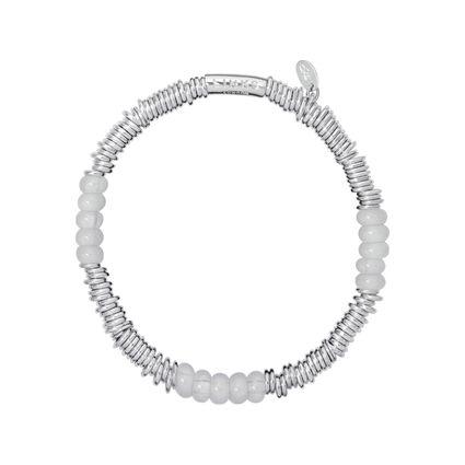 Sweetie XS Sterling Silver & Milky Quartz Bracelet, , hires