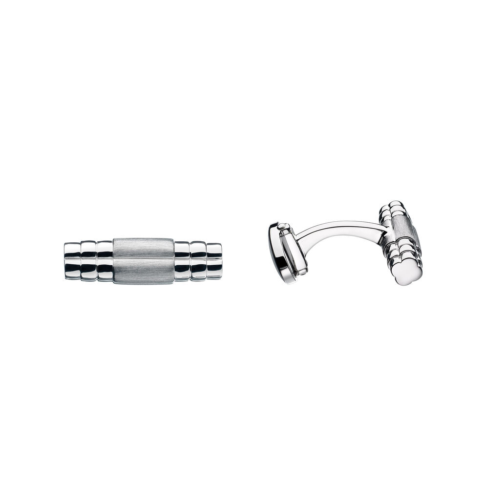 Sterling Silver Venture Cufflinks, , hires