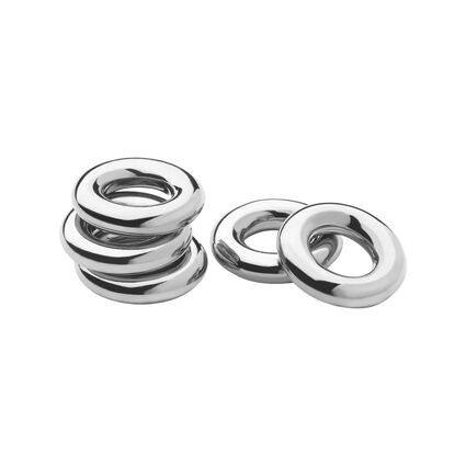 Sterling Silver Sweetie Rings, , hires