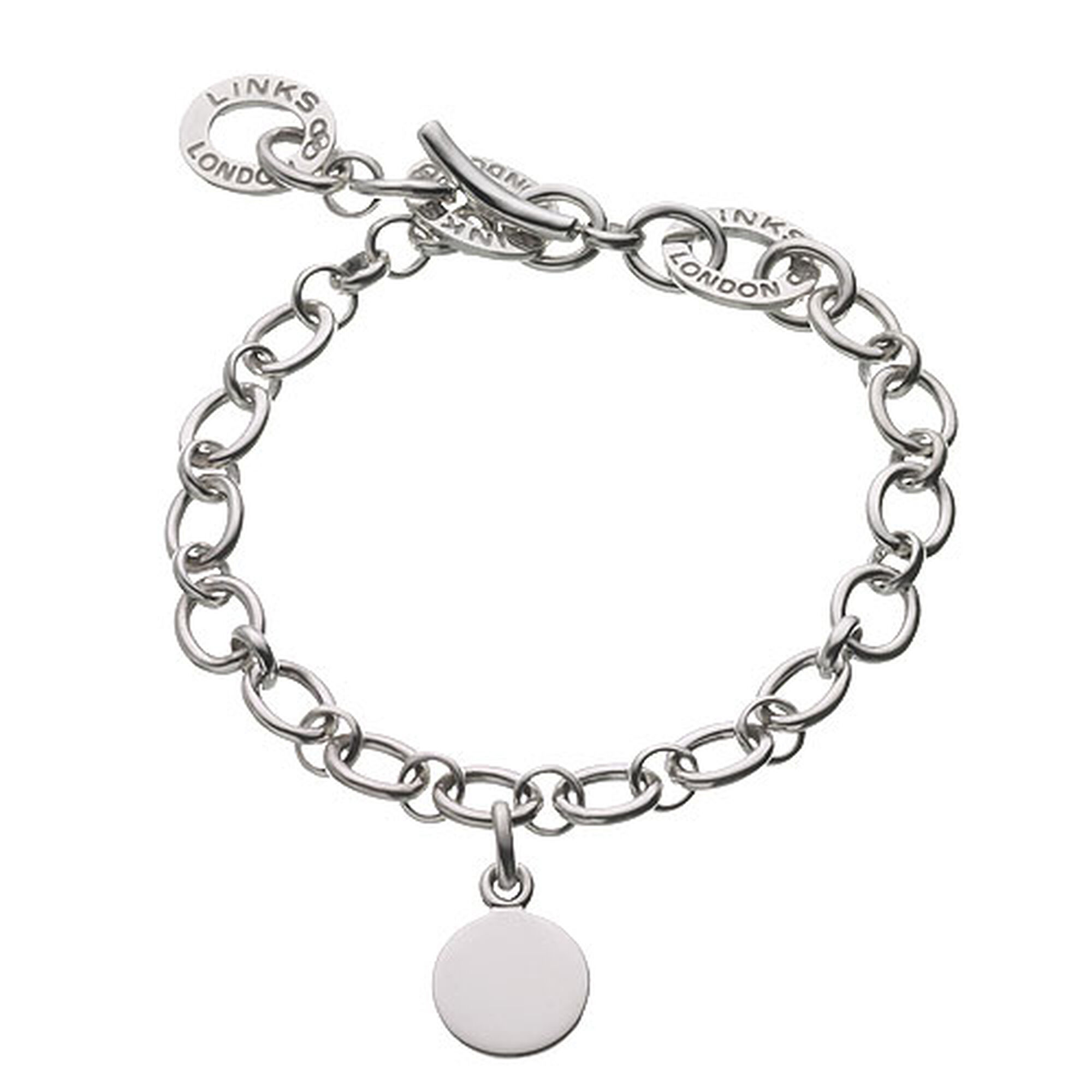 silver width solid anchor jewellery bangle bracelet bangles heavy charm curb sterling