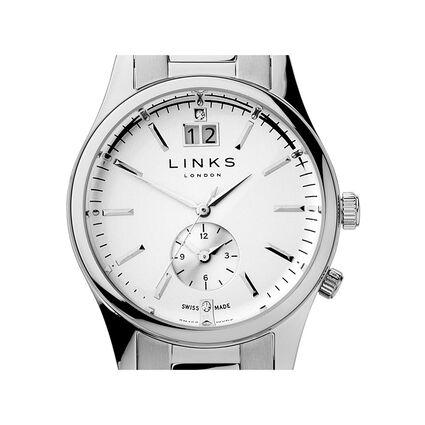 Regent Womens Silver Plated Bracelet Watch, , hires