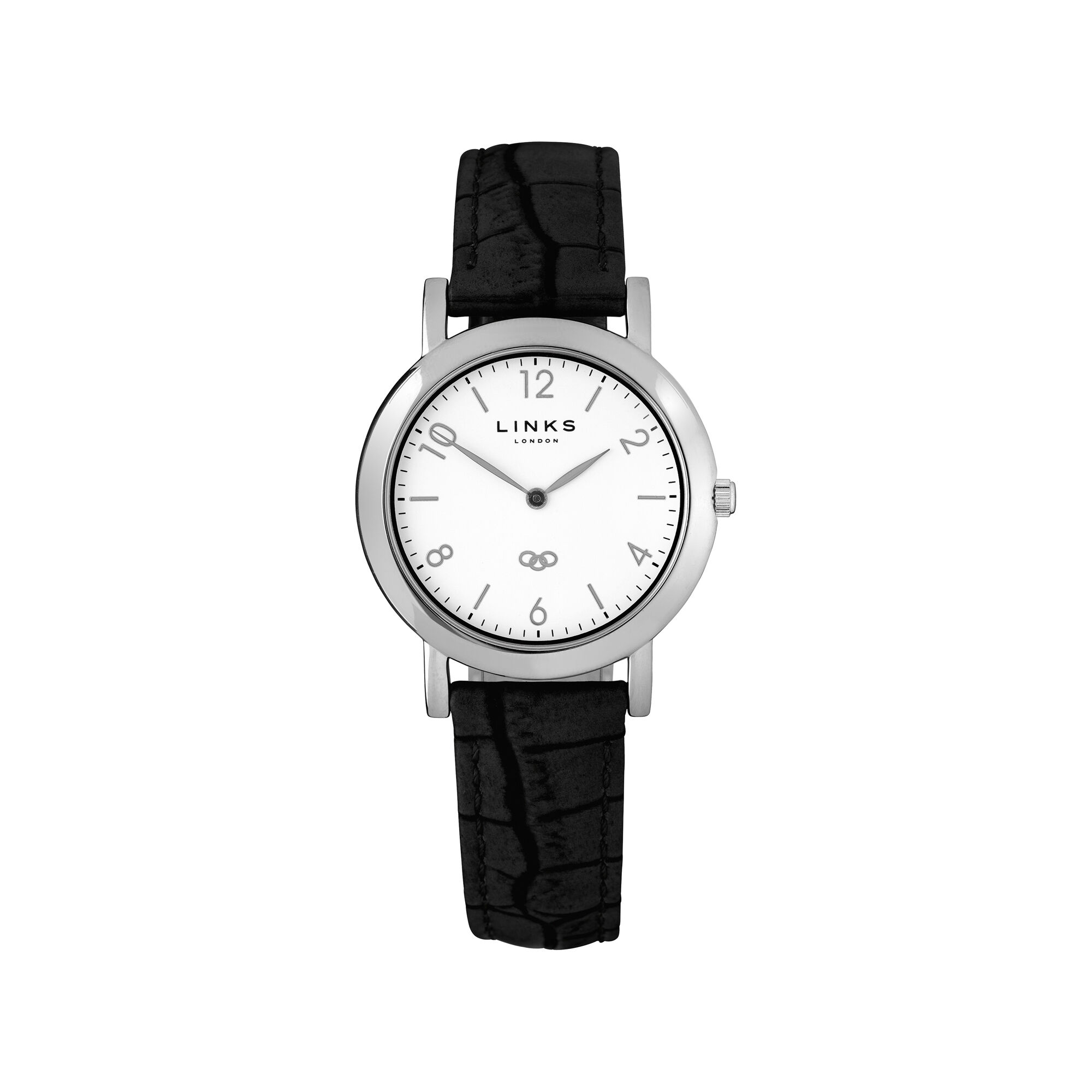 beverly front breda black leather s watch women watches products