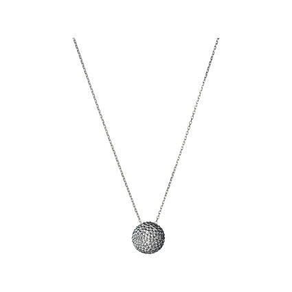 Effervescence Sterling Silver Big Bubble Necklace, , hires