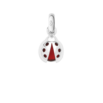 Sterling Silver Lucky Ladybird Charm, , hires