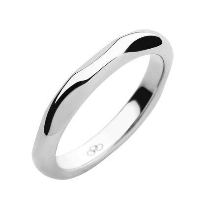 20/20 Sterling Silver Band Ring, , hires