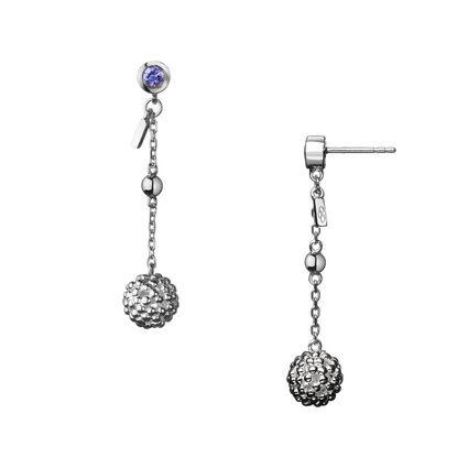 Effervescence Bubble Sterling Silver Drop Earrings, , hires