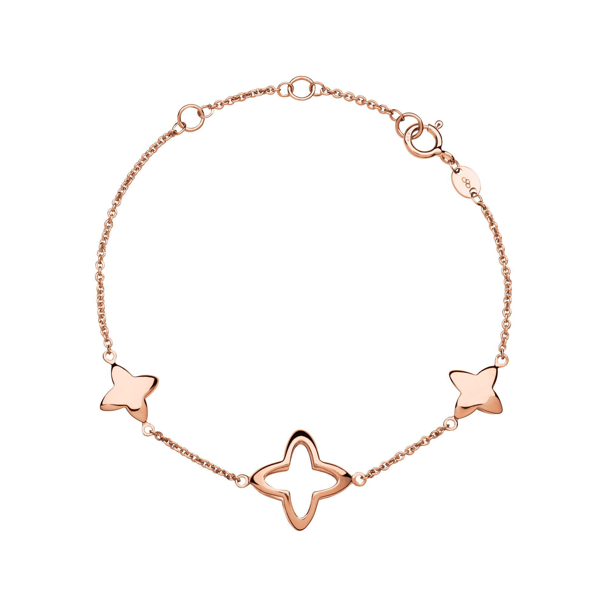 gold bracelet by solid bybaby anklet fine star rose jewellery products baby