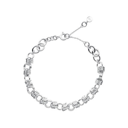 Sweetie XS Silver Chain Charm Bracelet, , hires