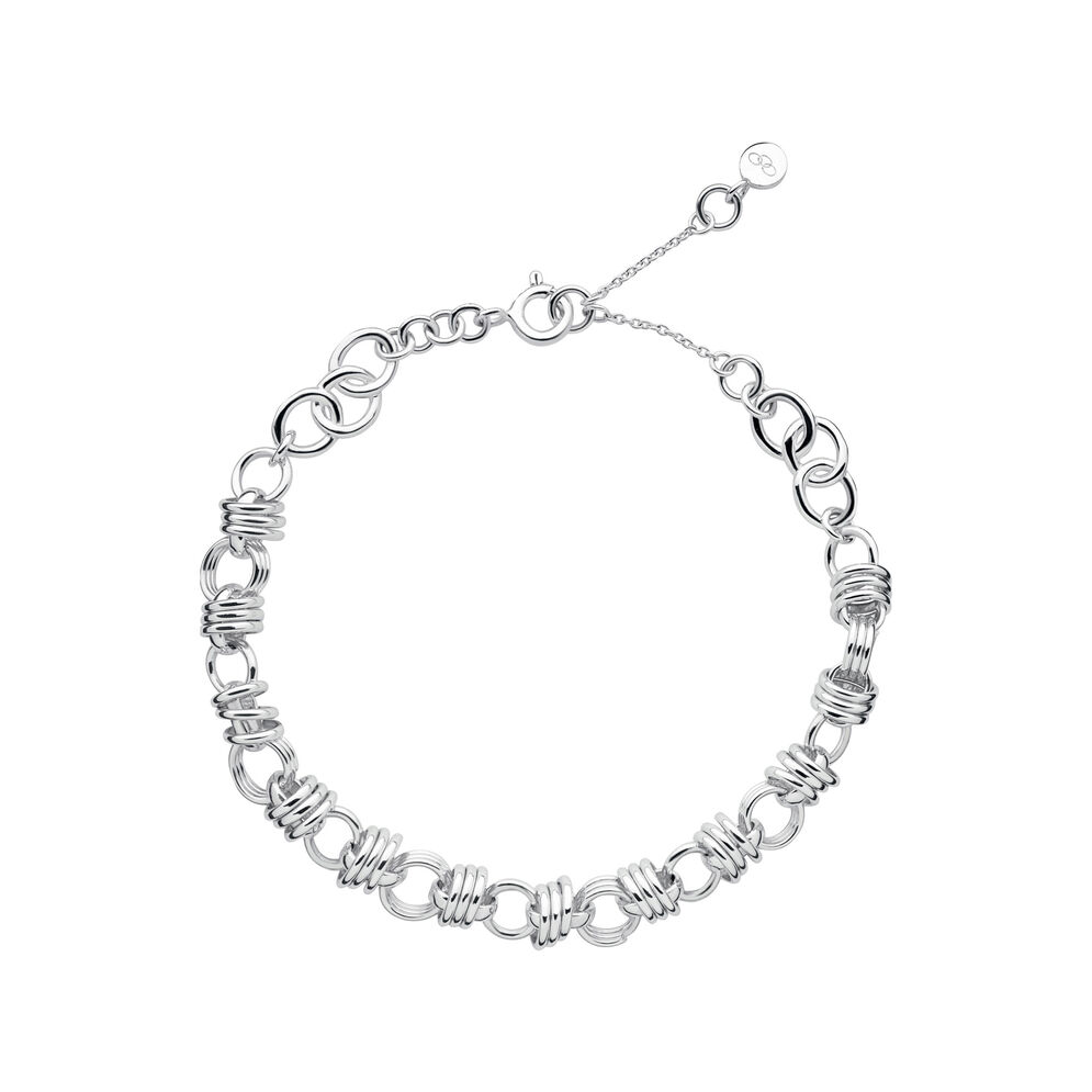 Sweetie XS Sterling Silver Chain Charm Bracelet, , hires