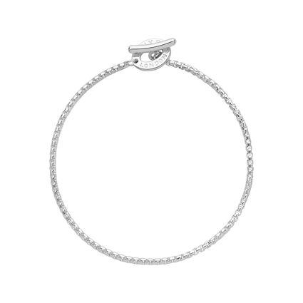 Sterling Silver Belcher Box Bracelet, , hires