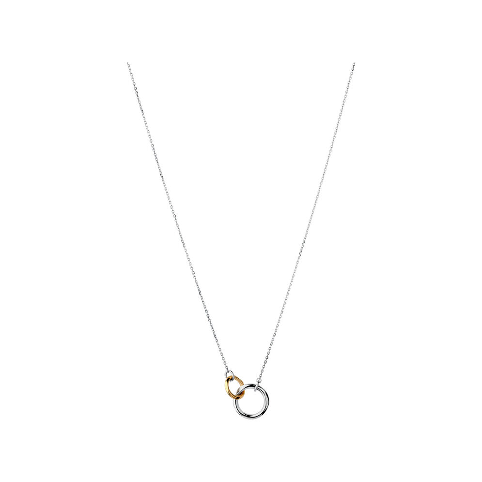 20/20 Sterling Silver & 18kt Yellow Gold Necklace, , hires