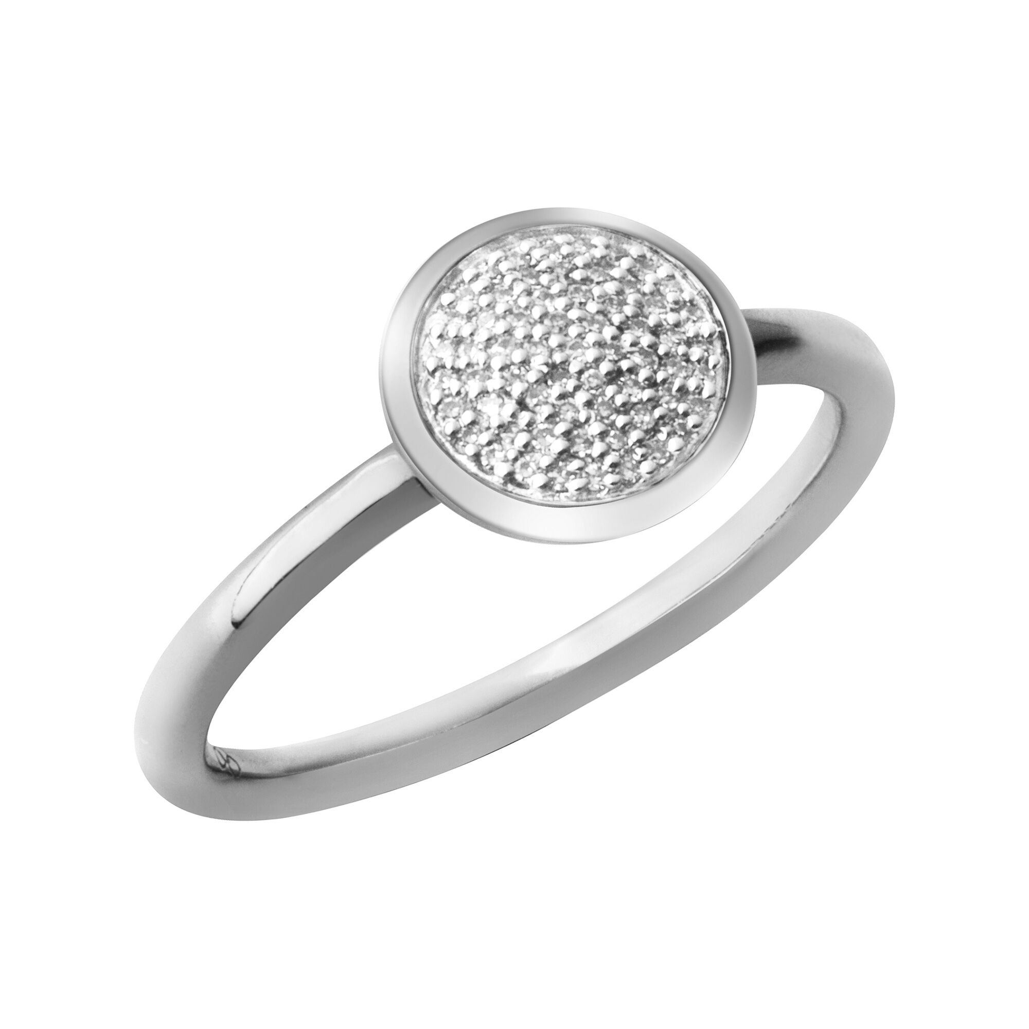 stone rings and micro strand diamond queue engagement products shape ring pave