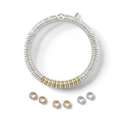 Bag of 5 18K Rose Gold Vermeil Sweetie Rings, , hires
