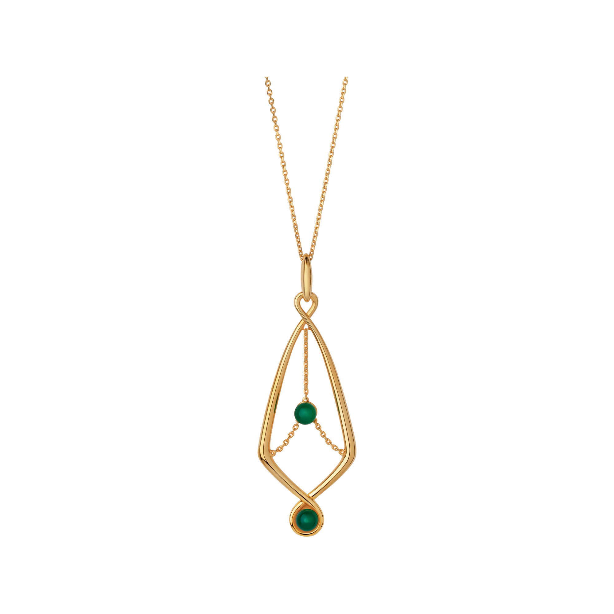 yellow gold and london gemstone chalcedony pendant gb serpentine vermeil hires green necklace links en of amp