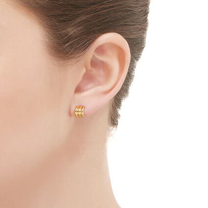 Sweetie 18kt Yellow Gold Stud Earrings, , hires