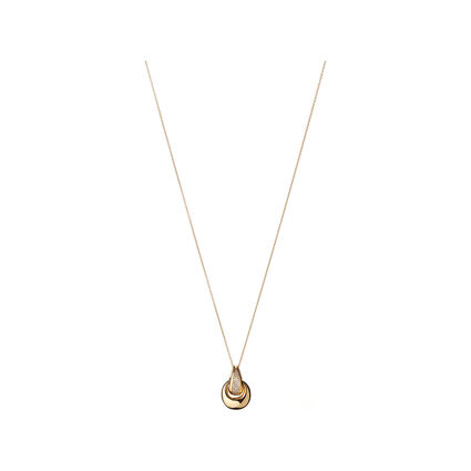 Hope 18K Yellow Gold Diamond Necklace, , hires
