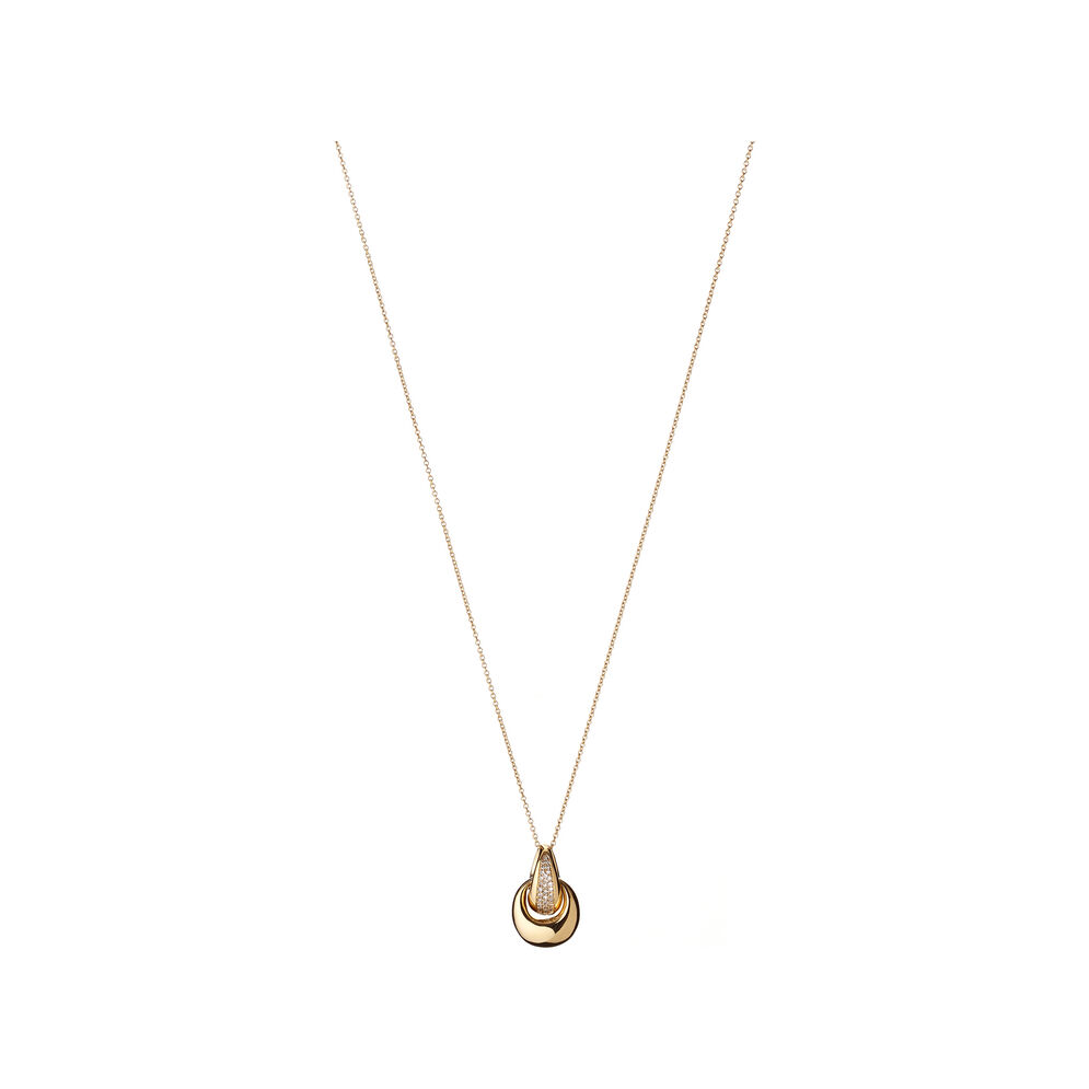 Hope 18kt Yellow Gold Diamond Necklace, , hires