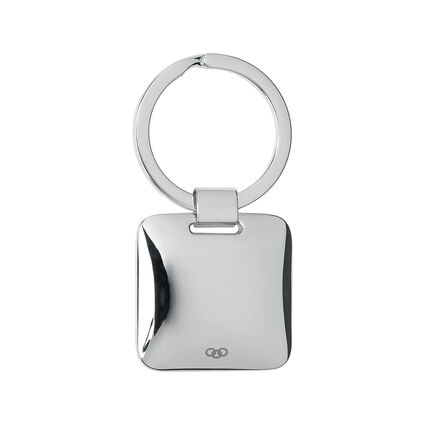 Silver Plate Key Ring, , hires