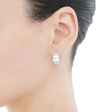 Essentials Hope Hoop Earrings, , hires