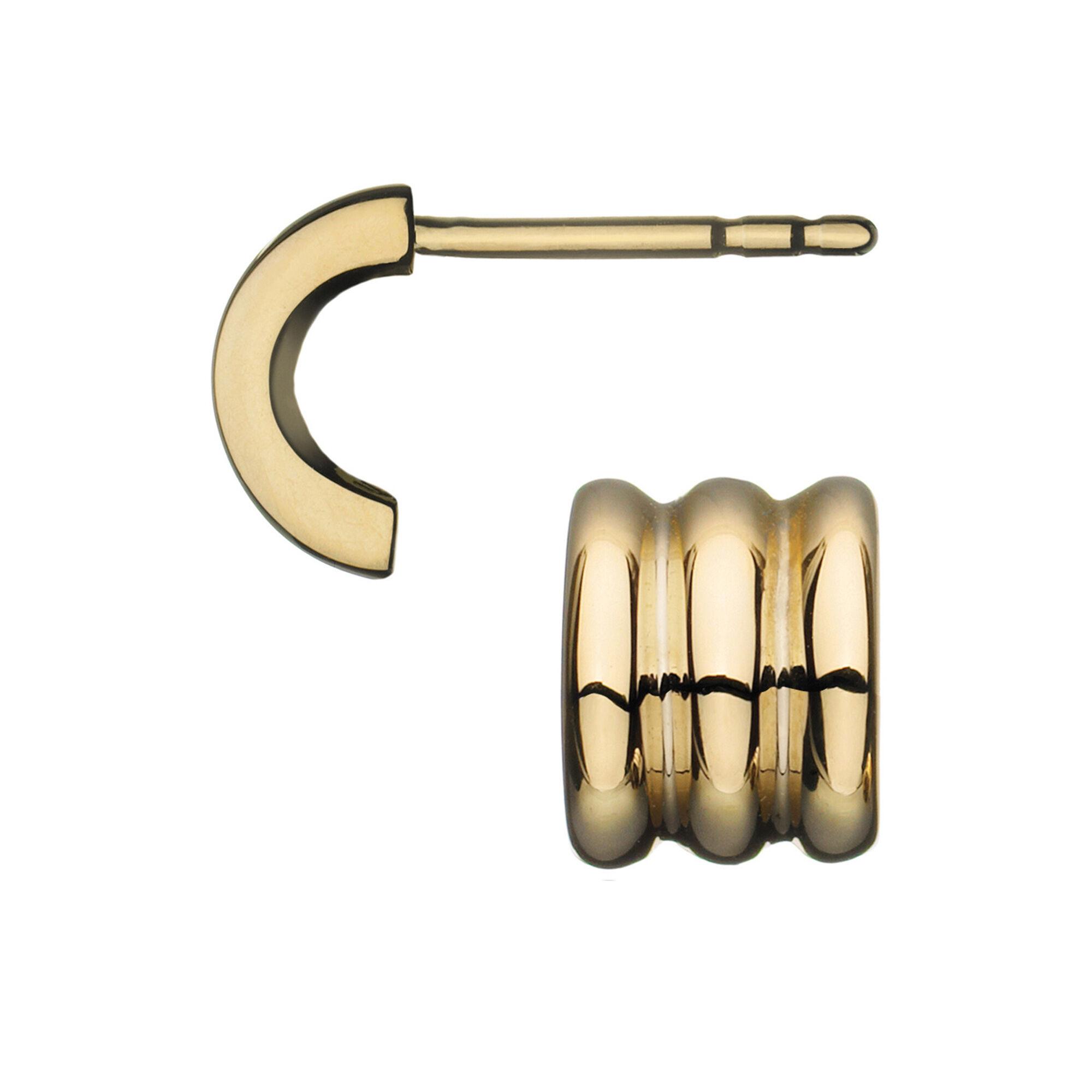 Sweetie 18kt Yellow Gold Stud Earrings Hires