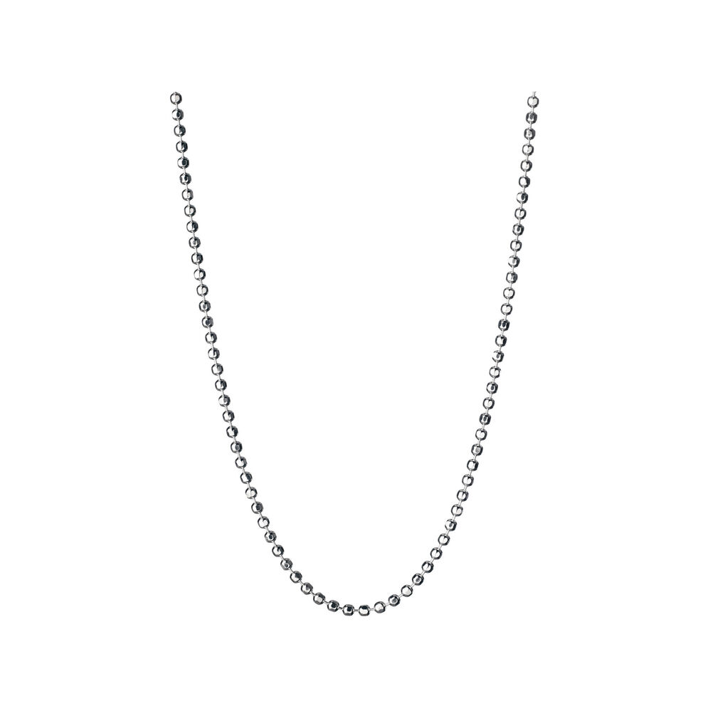 Essentials Sterling Silver 1.5mm Ball Chain 45cm, , hires