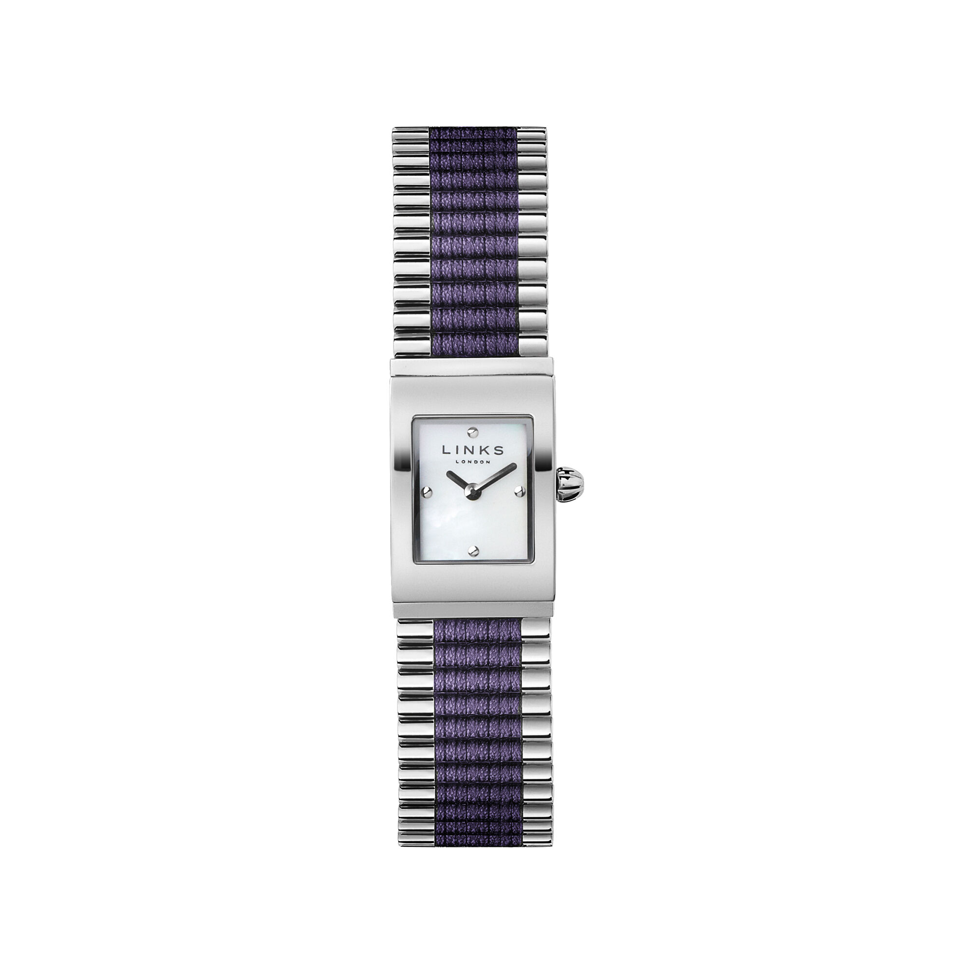 watches steel rectangular silver accessories watch product gershwin do stainless