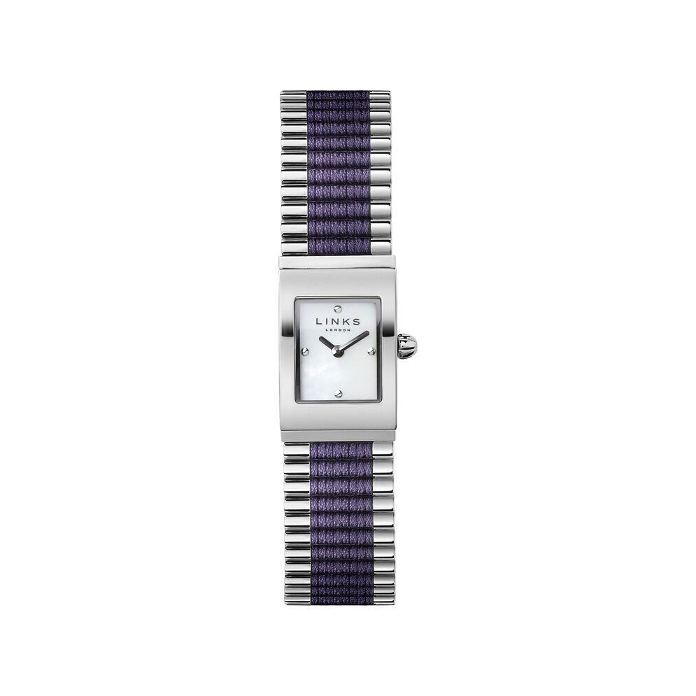 Friendship Purple Rectangular Watch, , hires