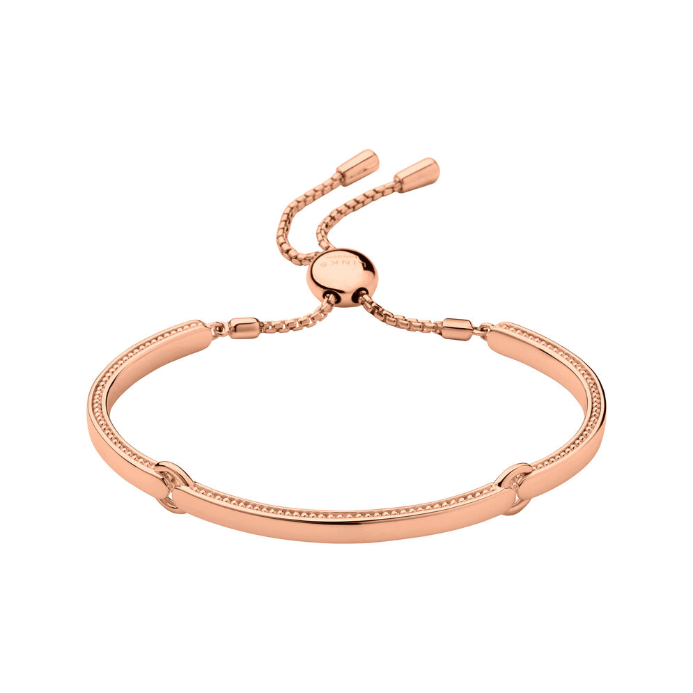 Narrative 18ct Rose Gold Vermeil Bracelet, , hires
