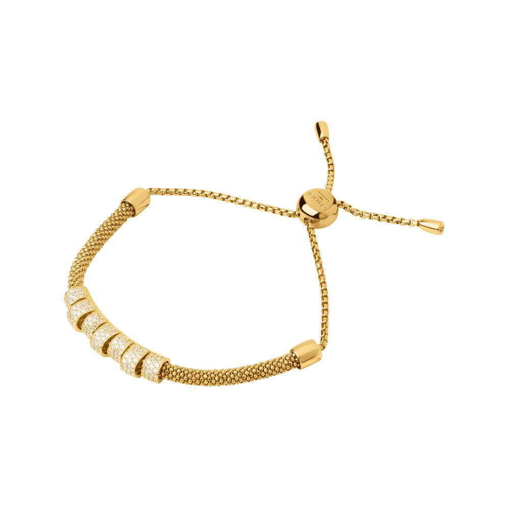 Starlight 18kt Yellow Gold Vermeil & Sapphire Coronet Bracelet, , hires