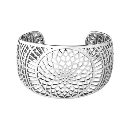 Timeless Sterling Silver Cuff Bracelet, , hires