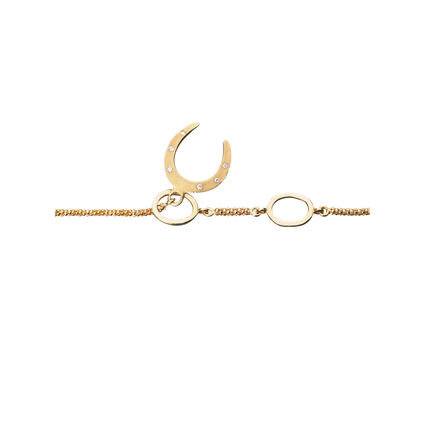 Watch Over Me 18K Yellow Gold & Diamond Serenity Bracelet, , hires
