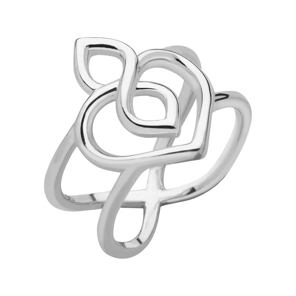Infinite Love Sterling Silver Ring, , hires