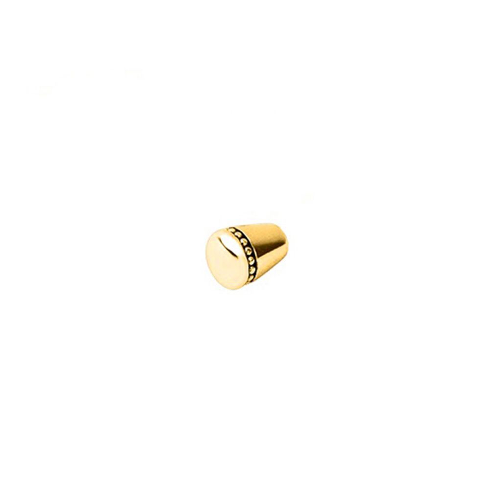 Amulet 18kt Yellow Gold Vermeil Charm Cuff End Caps, , hires