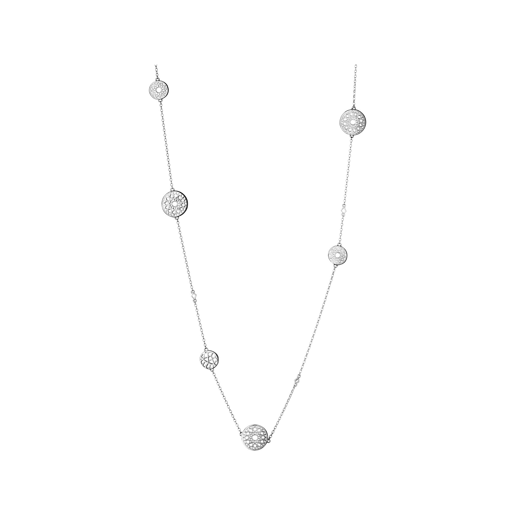 jewelry silver clover necklaces necklace station cosanuova