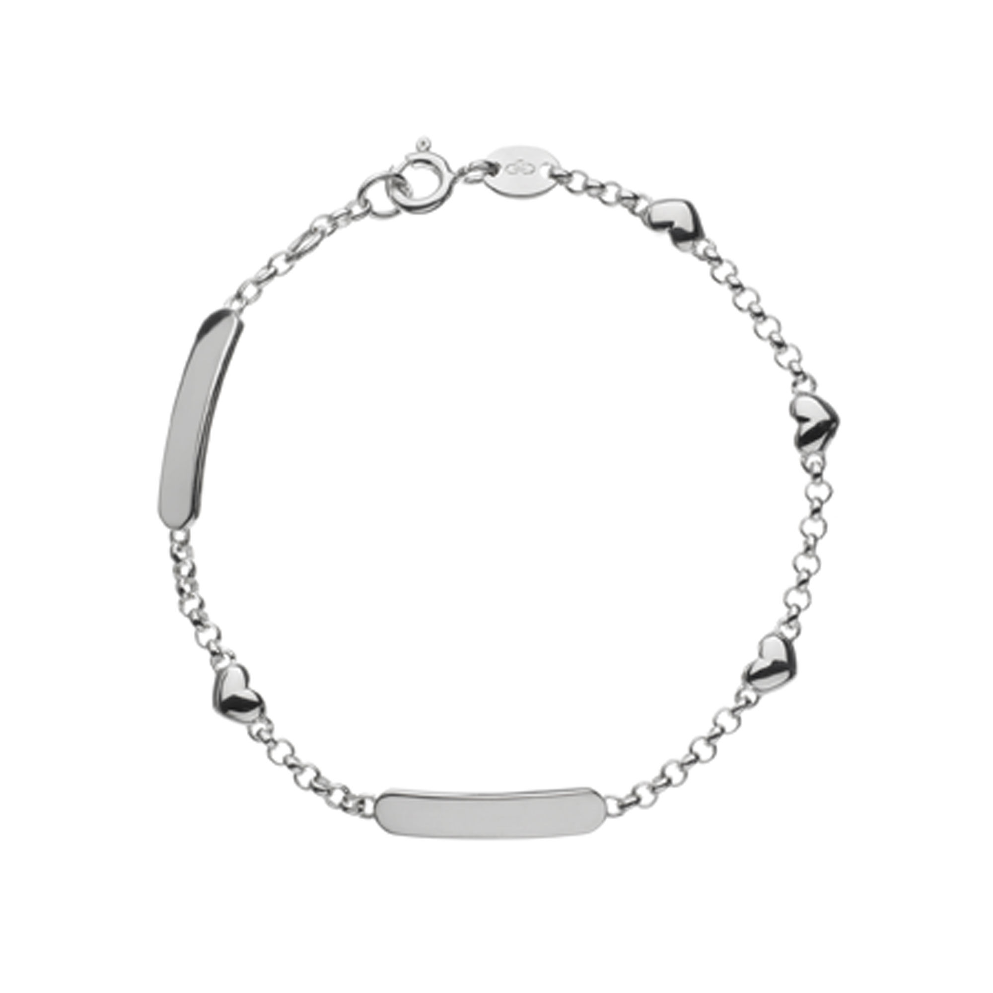 anklet hires amp en and london bracelet pave sterling essentials silver links heart diamond gb of