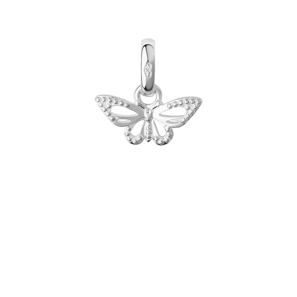 Sterling Silver Flutterby Charm, , hires