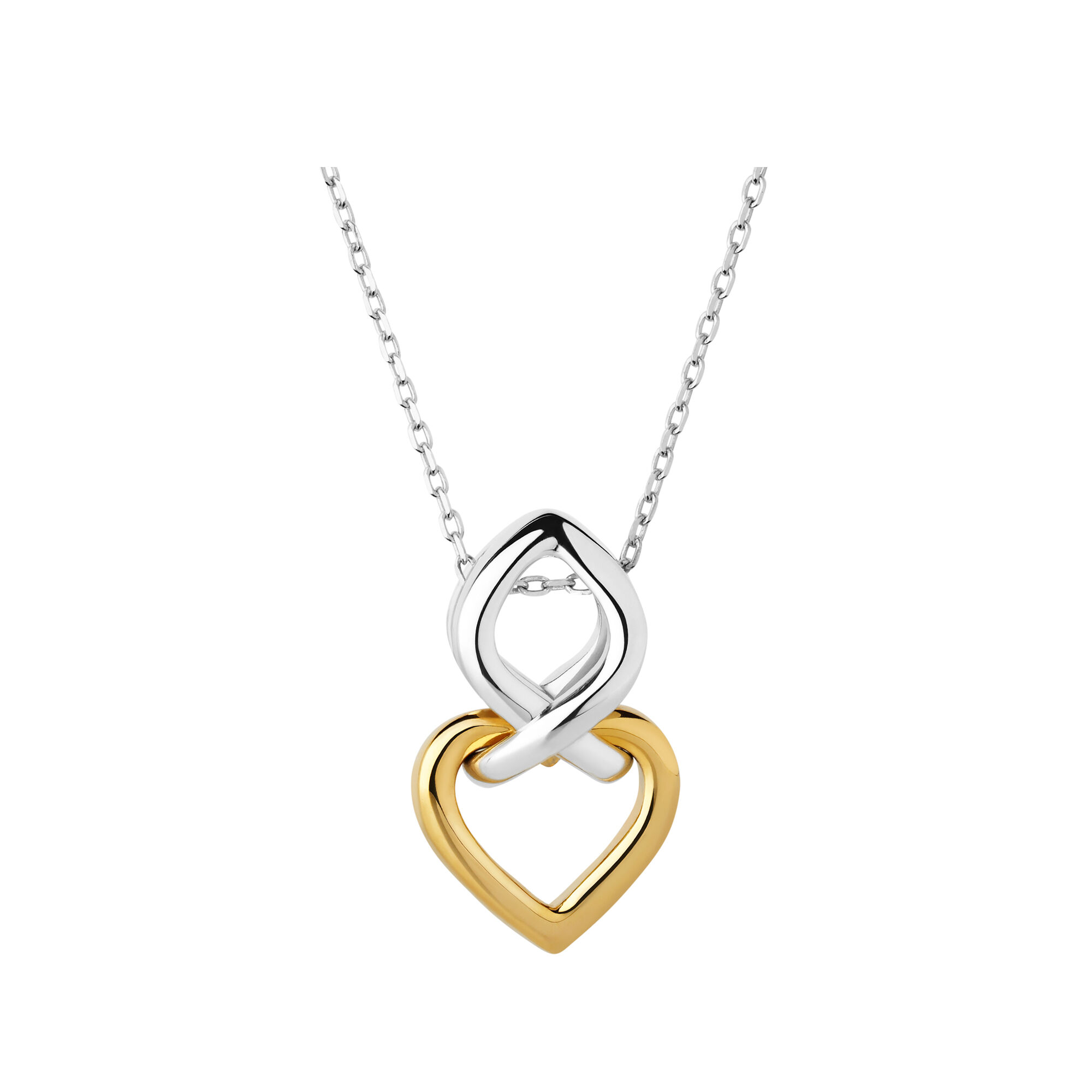 vermeil infinite love and necklace of en amp silver gold gb links london yellow sterling hires