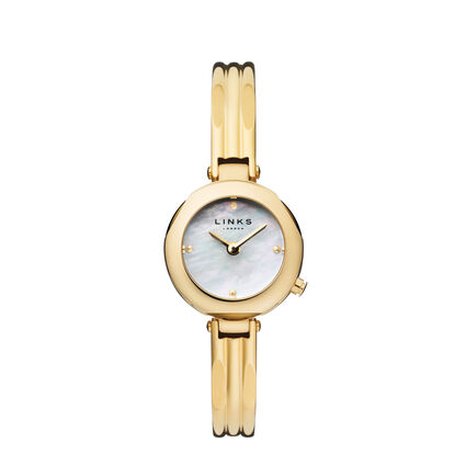 White Mother Of Pearl Dial 20-20 Watch, , hires