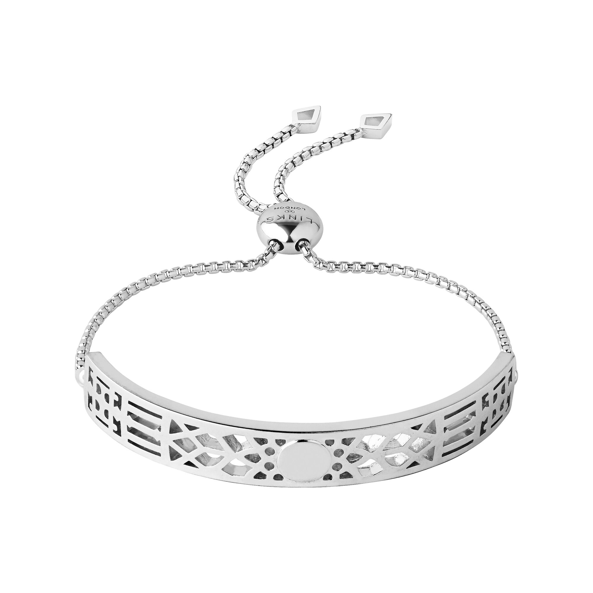 jewelry cl bracelet bling star solid sterling silver patriotic stars chain cutout toggle