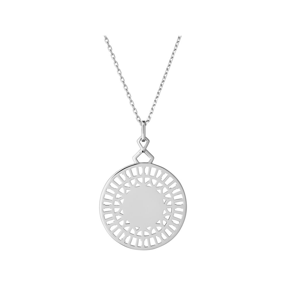 Timeless Sterling Silver Necklace, , hires