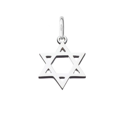 Sterling Silver Star of David Charm, , hires