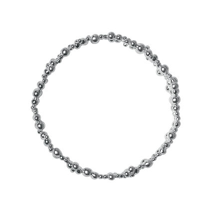 Effervescence Sterling Silver Bubble Bangle, , hires