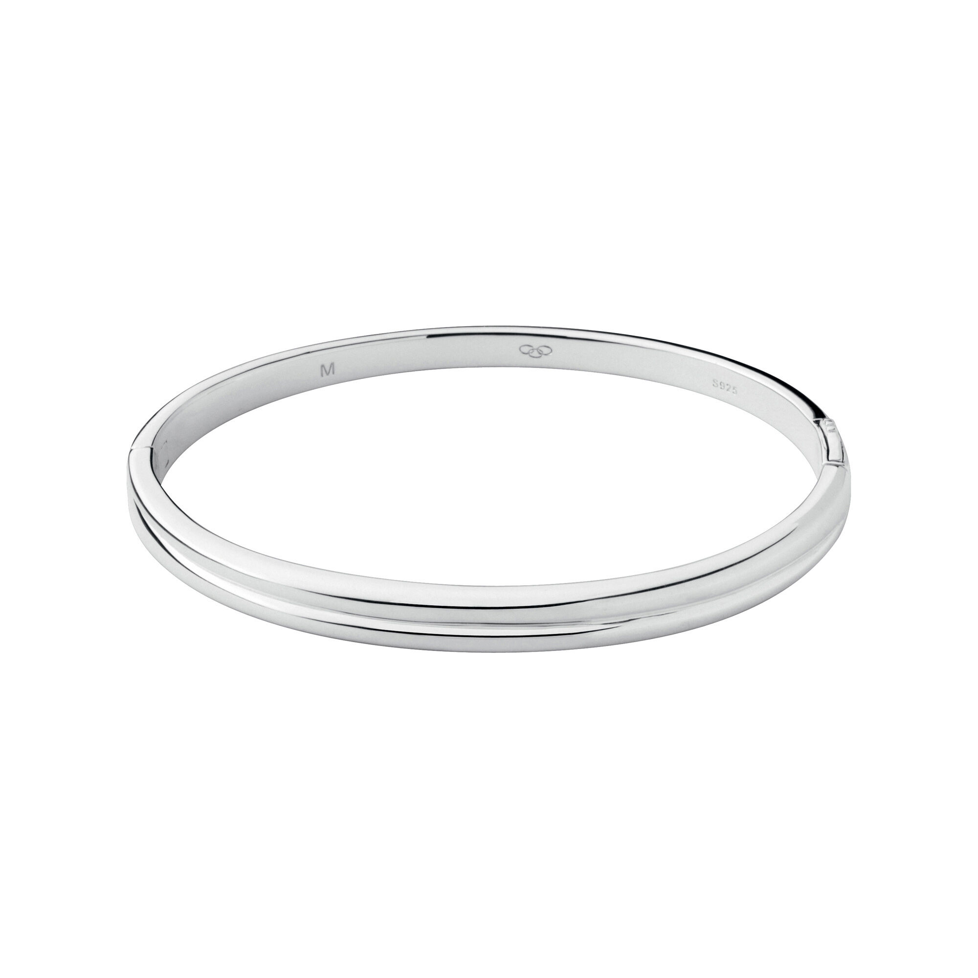 polished silver plain with hallmarked bangle bangles finish sterling p asp