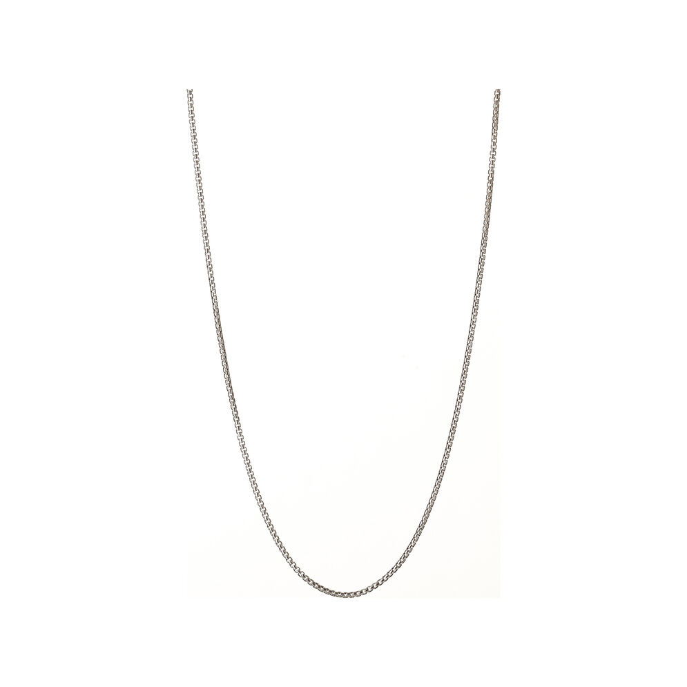 Essentials Sterling Silver Box Belcher Chain, , hires