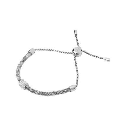 Starlight Sterling Silver & Sapphire Bead Bracelet, , hires