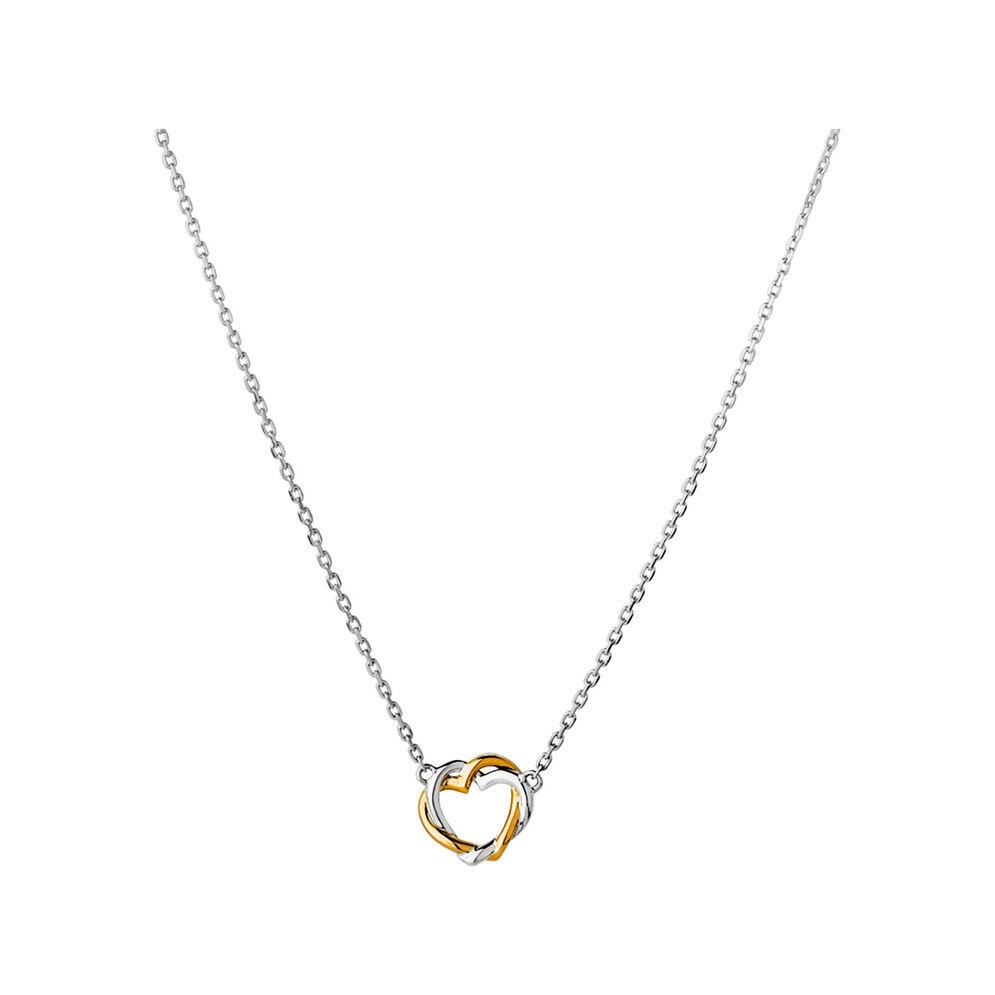Kindred Soul Bi-Metal Mini Necklace, , hires